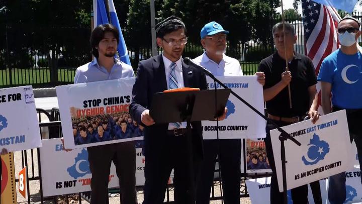 Uyghur Leader Asks Biden to Boycott Beijing Olympics: