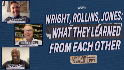David Wright, Jimmy Rollins reveal what they learned from playing with future Hall of Famers | Like We Never Left