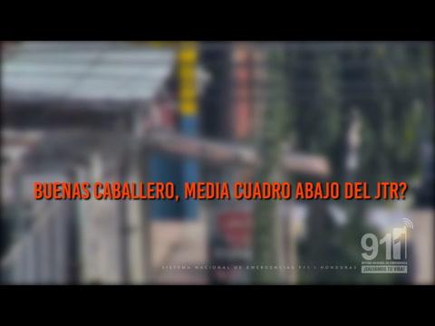 Llamada al 911 termina en captura de asaltantes en San Pedro Sula