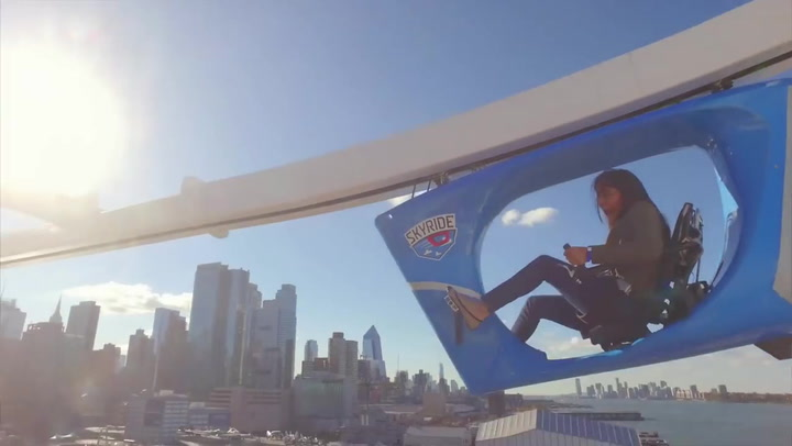 SkyRide on Carnival Vista: Cruise Review Tries It Out