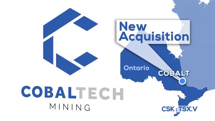 Cobaltech, Next North America's Cobalt Producer