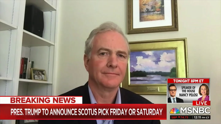 Van Hollen: We'll 'Use Every Procedural Opportunity' to Block RBG Replacement - GOP Should Consider 'Consequences Down the Road'