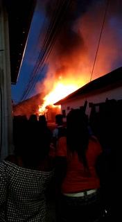 Incendio en Trujillo