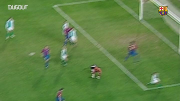 أبطال الهاتريك: خافيير سافيولا أمام ريال بيتيس