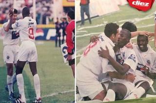 Primer gol de David Suazo con el Olimpia: hace 22 años, lo demás es historia