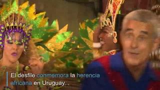 Montevideo celebra su carnaval a ritmo de candombe