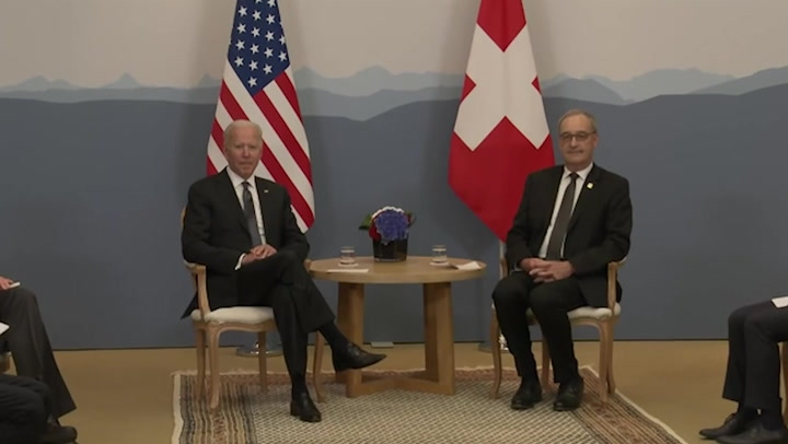 Biden says he's 'always ready' when asked about Putin meeting