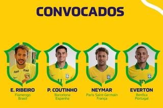 Increíbles ausencias: Los convocados de Brasil para el inicio de las eliminatorias mundialistas
