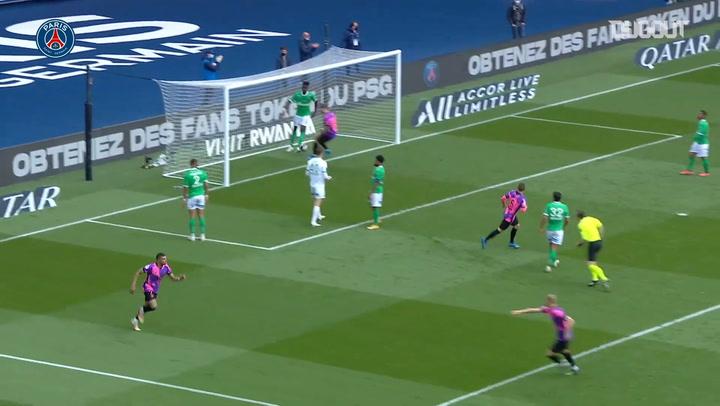 Mbappé's equaliser against Saint-Étienne