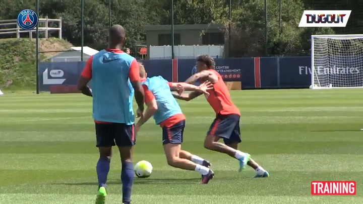 Training Session of the Day: Neymar Already On