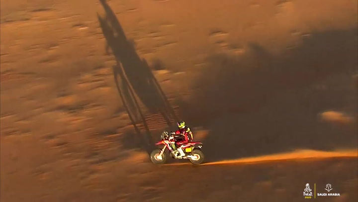 Resumen de la etapa 11 de motos del Dakar