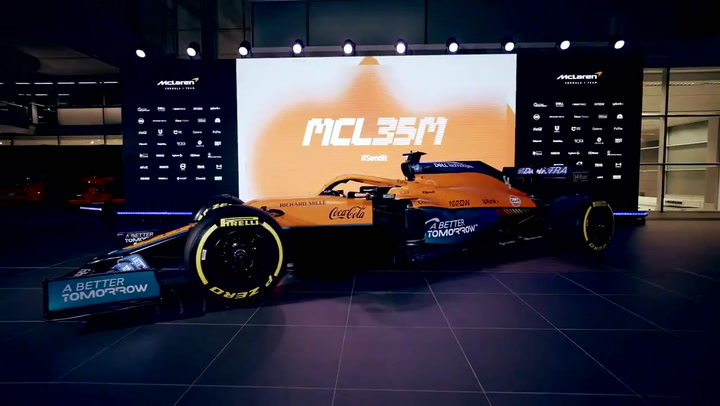 McLaren presenta su coche de 2021