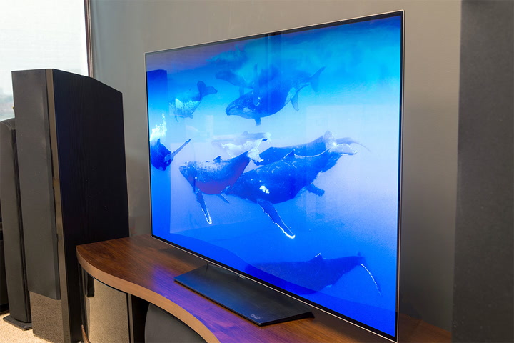 tv inches. lg oled55b6p 55-inch 4k oled tv review tv inches