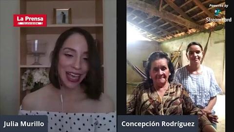 Doña Conchita podrá graduarse como licenciada en Pedagogía gracias al apoyo de los lectores de Diario LA PRENSA