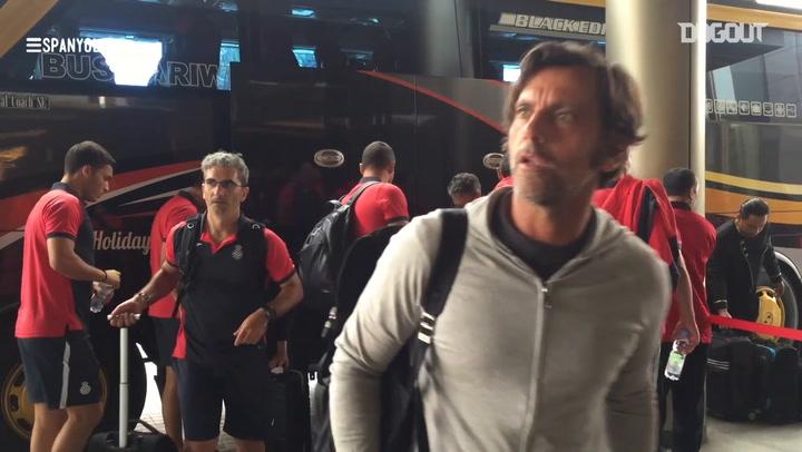 When RCD Espanyol visited Jakarta
