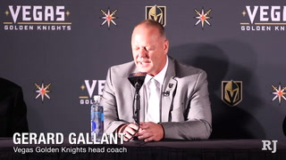 Why coach Gallant is the right fit for the Golden Knights