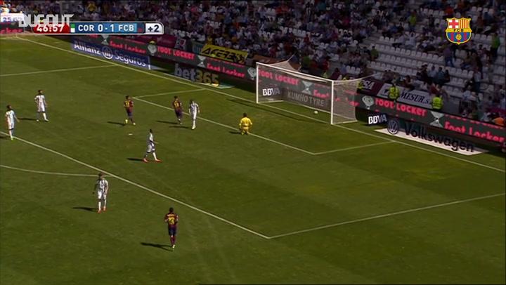 Hat-Trick Heroes: Luis Suárez Scores First Barça Treble