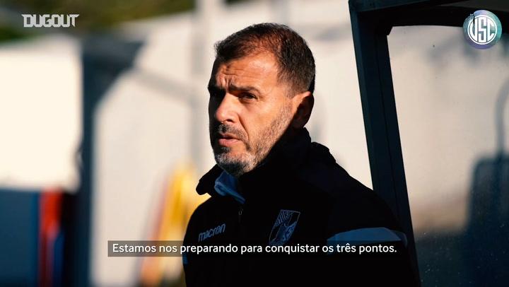 André Almeida analisa duelo entre Vitória SC e Portimonense