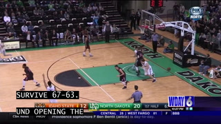 Hooker's triple-double leads UND over Idaho State
