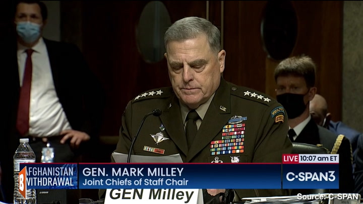 Milley Defends Calls with Chinese Counterpart, Pelosi, and Acting on Trump Nuke Fears