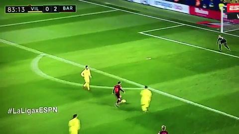 Messi y Suárez le dieron la victoria al Barcelona ante el Villarreal
