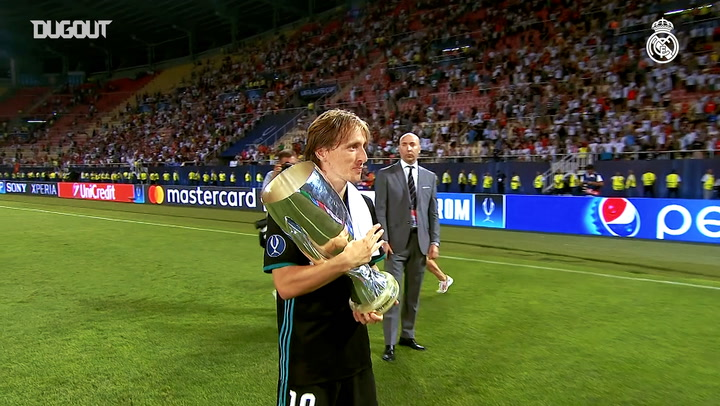 Luka Modric titles and highlights with Real Madrid