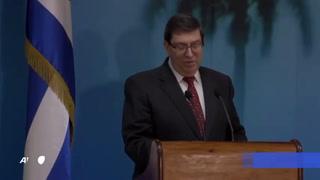 EEUU aprovechó la pandemia para endurecer su bloqueo a Cuba, denuncia la isla