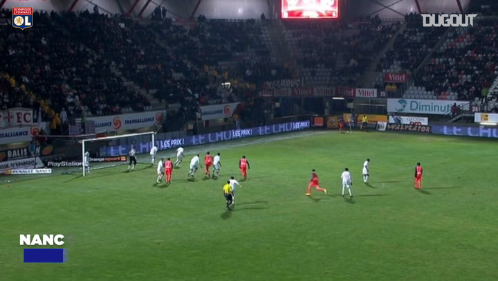 Maxime Gonalons best five goals with Olympique Lyonnais