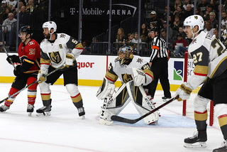 Golden Knights talk about their 2-0 win over the Flames