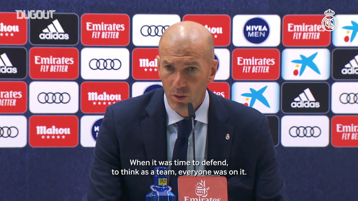 Zidane: 'There's still a long way and we need to keep it up'