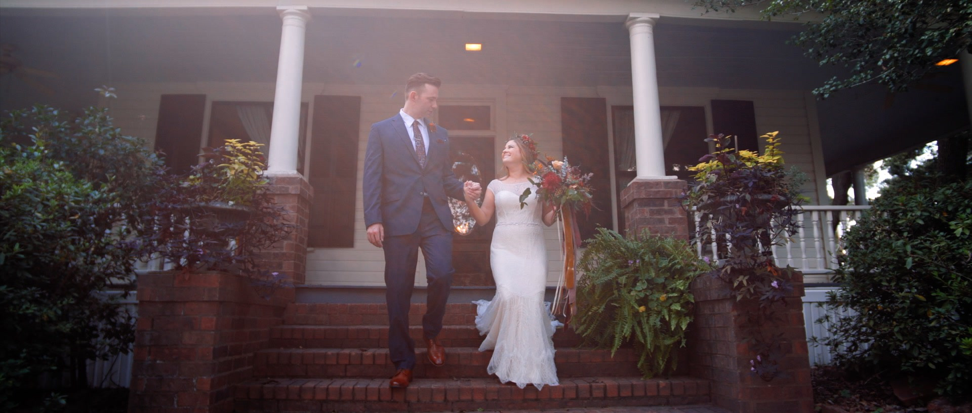 Dan + Kara | Tomball, Texas | Chandelier Grove
