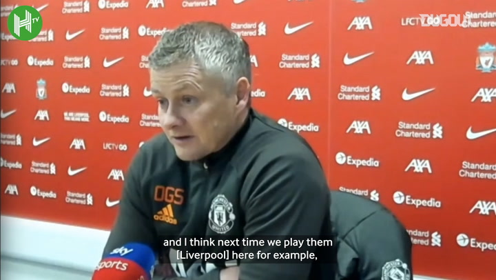 Solskjær: 'Next time we play Liverpool we need to impose ourselves more'