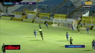 Real España y Lobos de la UPNFM están aburriendo en el estadio Morazán