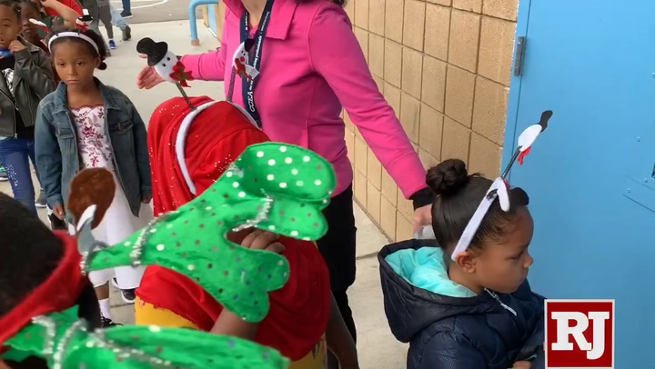 ... School District schools, have added Matt Kelly Elementary in Las Vegas to their list of schools where every student gets new shoes, socks and a toy.