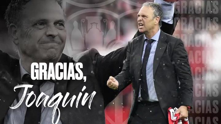 El Sevilla FC da las gracias a Joaquín Caparrós