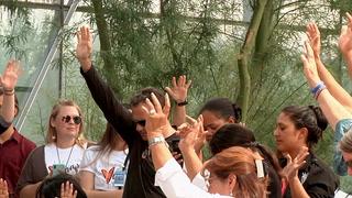 Hundreds gather for 1 October prayer vigil at Las Vegas City Hall