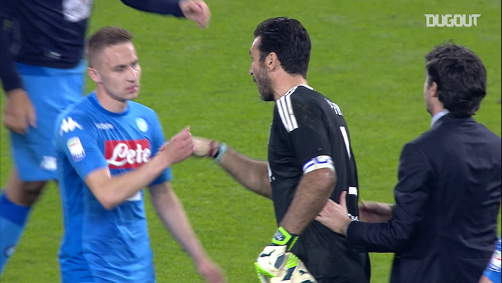 How Buffon showed his class after Napoli drama