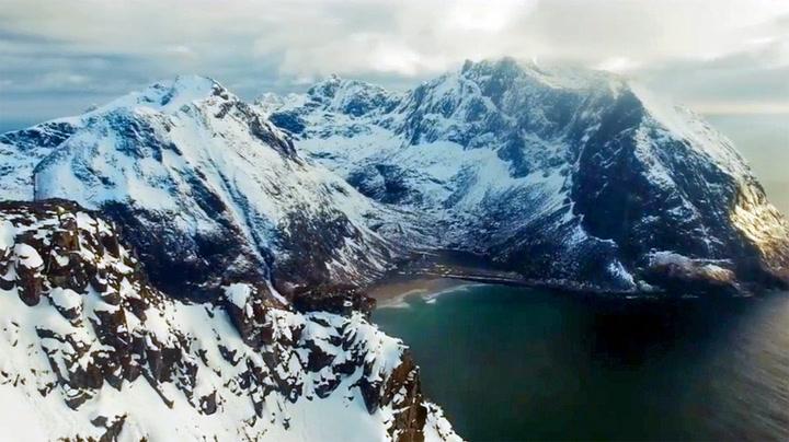 Amerikansk dronefotograf har laget storslagen video av norsk natur