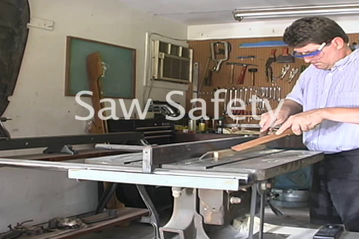 The American Garage Saw Safety