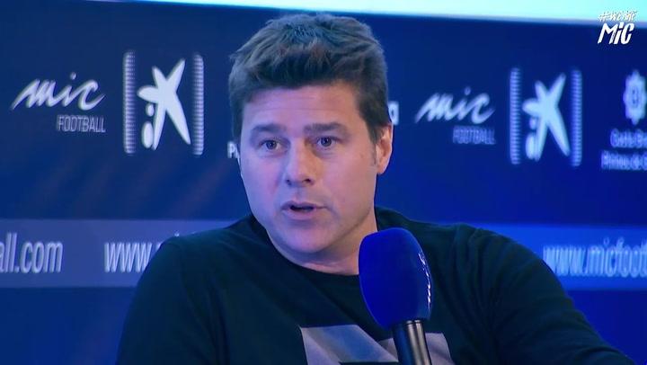 """Pochettino: """"Si hay un favorito para ganar la Champions, es el Barça"""""""