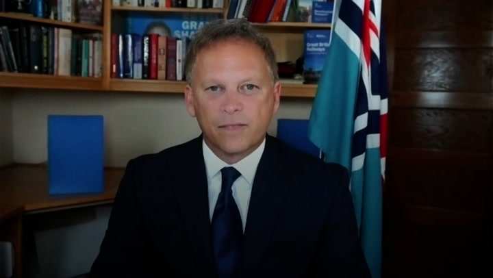 Transport Secretary Grant Shapps explains the new travel rules as restrictions are eased