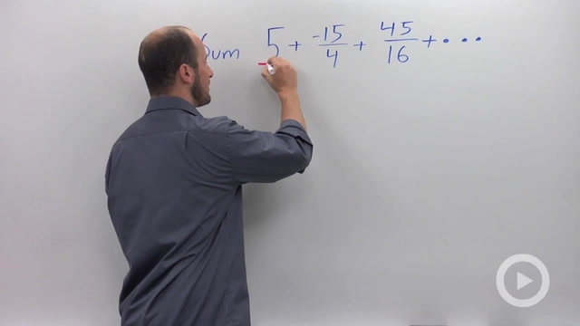 Geometric Series - Problem 2