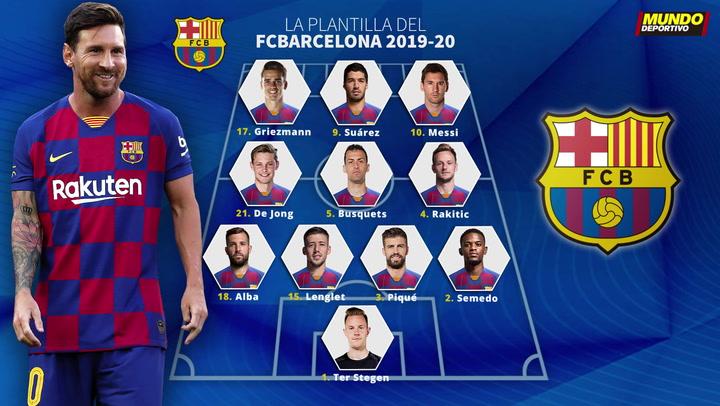 Estos son los dorsales definitivos del Barça 2019/20