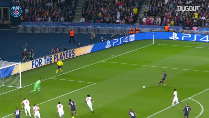 PSG defeat Bayern Munich in the Champions League 2017-18