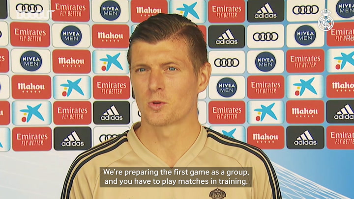 Kroos: 'Let's see what it's like to play behind closed doors'