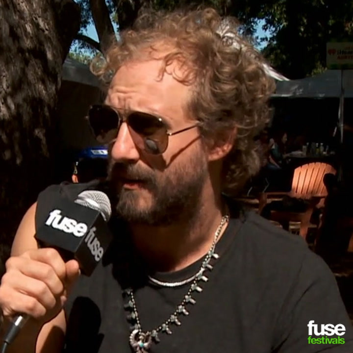 Phosphorescent Played, Partied With Robert Plant on His Birthday at Austin City Limits