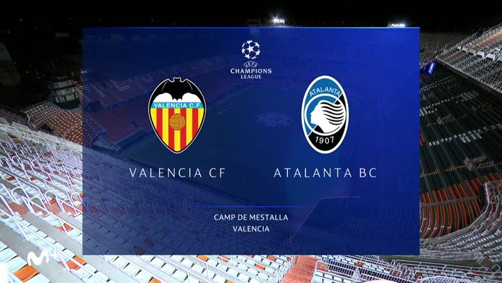 Champions League: Resumen del Valencia-Atalanta