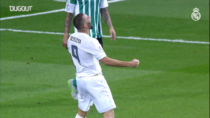 Benzema scores header against Betis