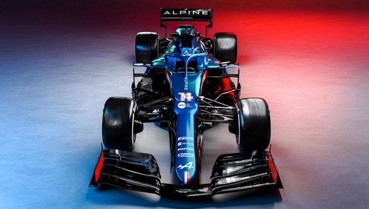 Así es el nuevo Alpine A521 de Fernando Alonso para la F1 2021