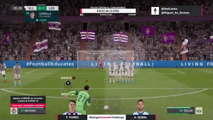 Lo más destacado del Real Valladolid - Leganés de LaLiga Santander Challenge